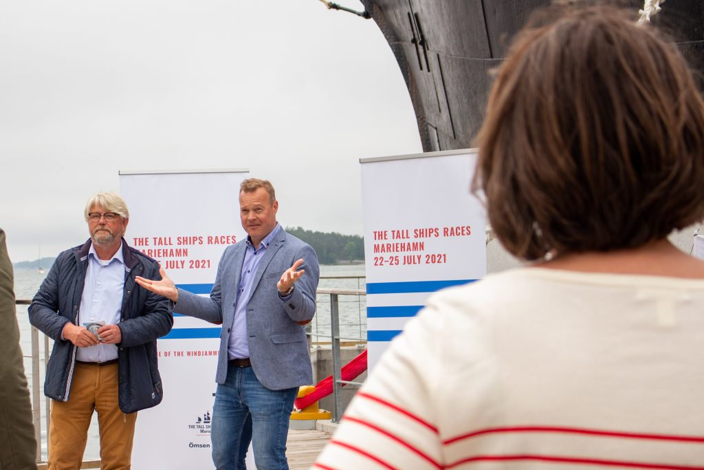 Björn Kal och Peter Ekholm.