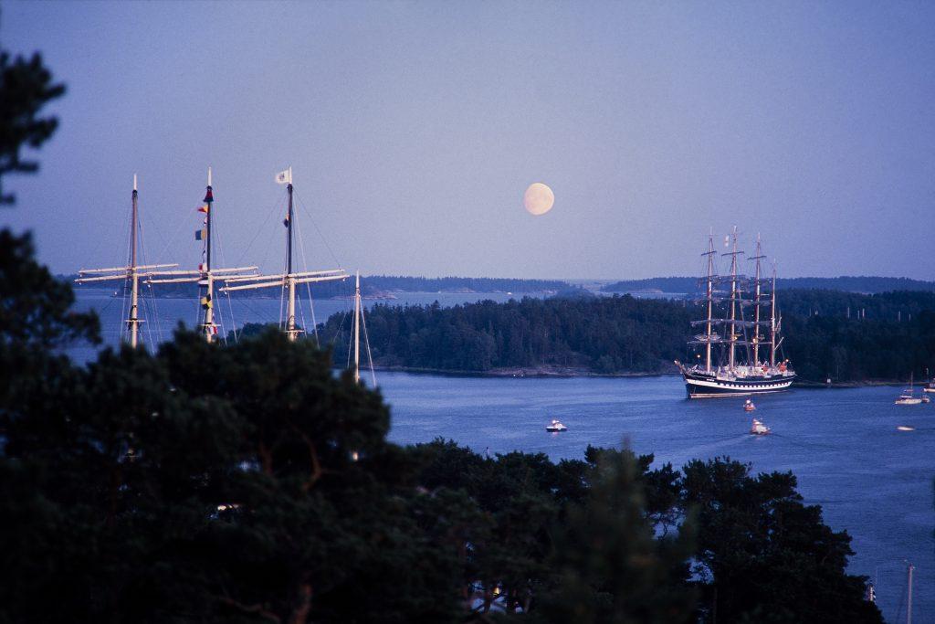 Tall Ships Races Mariehamn 1988. Photo by Daniel Eriksson.